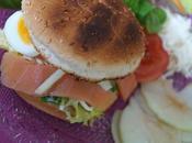 Burger Saumon Fumé