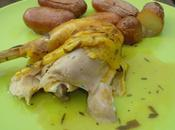 Poulet roti citron 'estragon