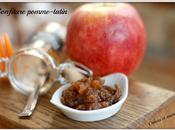 Confiture pomme-tatin
