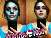 Maquillage Halloween: Abbey Bominable Frankie Stein #MonsterHigh