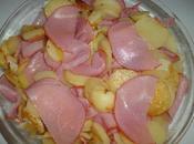 Gratin pommes terre bacon cheddar