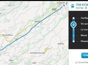 SNCF Maps Pour localiser trains temps réel