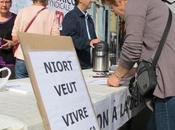 Délocalisation Crédit Agricole Lagord combat continue