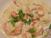 Gambas lait coco gingembre