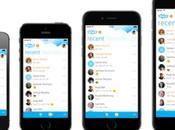 Skype s'agrandit pour l'iPhone