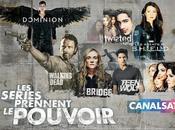 TELEVISION: séries prennent pouvoir CanalSat Series take power