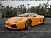 pourquoi publicités pour voitures Lamborghini télévision