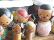 Donnez votre atelier avec poupées rigolotes