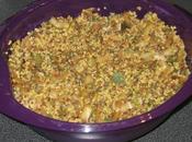 Mélange quinoa, boulgour, lentilles, poireaux chou blanc