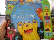 monstres albums chez Usborne Collection Sons images livre gros