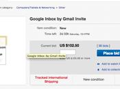 eBay invitation pour google inbox vente