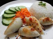 Calamars farcis vietnamienne (Mực nhồi thịt)