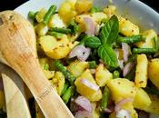 Salade pommes terre haricots menthe Minted Potato Green Bean Salad