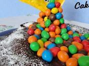 Gravity Cake (avec M&Ms)