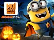 Moche Méchant Minion Rush iPhone prêt pour Halloween