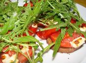 Tartine tomate feta