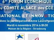 6ème Forum économique Comité Alsace CCEF1 International innovation 2030