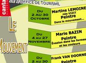 EXPOSITION Marie Bazin l'OT Pays Gentiane (Cantal)