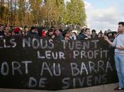 SOCIETE JUSTICE Décès Rémi Fraisse manifestation sous haute surveillance Paris