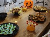 envies d'Halloween buffet tue!
