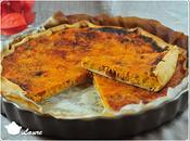 Quiche courge butternut lardons