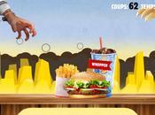 smartphone pour plus faire queue chez Burger King