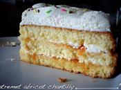 Entremet abricot chantilly ratio génoise inratable