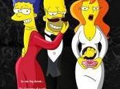 affiches films Simpsonisées