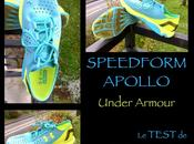Test SPEEDFORM APOLLO d'Under Armour