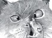 chat mangeait souris