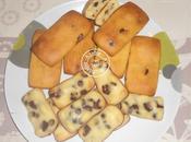 Petits cakes citron pépites chocolat