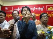 MOBILISATION. Aung appelle résistance face Constitution l'empêche devenir Présidente Birmanie