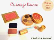 Couleur caramel collection Automne Hiver 2015 soir t'aime