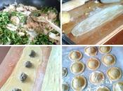 Ravioli maison champignons, Fresh mushroom from scratch