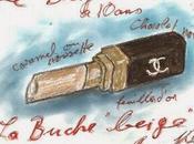 passait Noël Beige avec bûche Karl Lagerfeld pour Alain Ducasse...