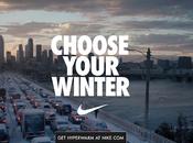 Nike peur l'hiver