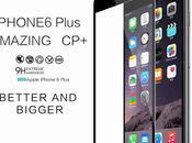 Protection verre trempé pour l'écran l'iPhone Plus