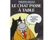 chat passe table Philippe GELUCK