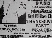 November 1942: join Calloway Thanksgiving party Chicago's Regal