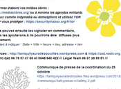 manifestations l'honneur #RémiFraisse buzz n'aura lieu.