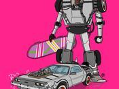 véhicules célèbres version Transformers