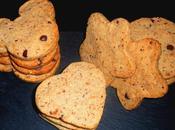 Cookies noisette, pralin chocolat