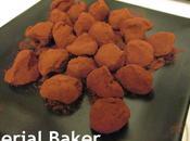 Truffes chocolat purée d'amande