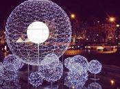 Champs-Elysées sont officiellement illuminés