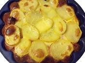 Gratin pommes terre fromage raclette