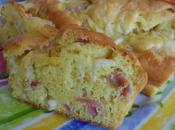Cake jambon saint nectaire