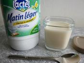 yaourts diététiques maison pauvres lactose avec Matin Léger Lactel (sans sucre sans lait poudre)