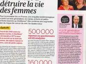interview dans Femme Actuelle Distilbène