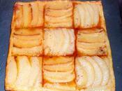 Tarte fine pomme poire (avec feuilletage minute)