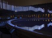 IKEA crée aurore boréale dans Jardin Palais Royal